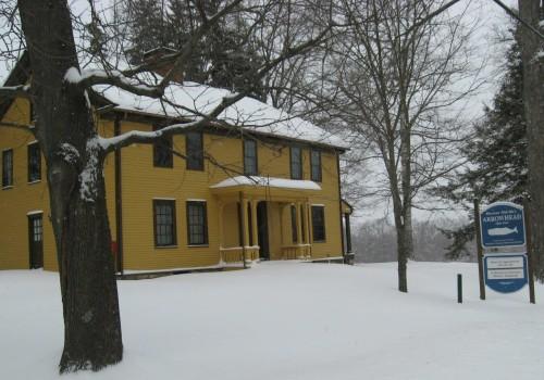 Arrowhead in snow 2-14-14 low res