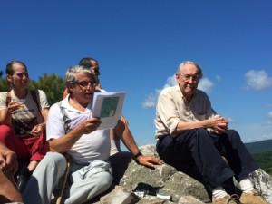Gordon Hyatt top of mountain 2015