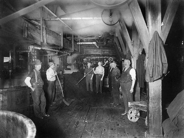 Coal Room Taconic Mill ca 1900 low res