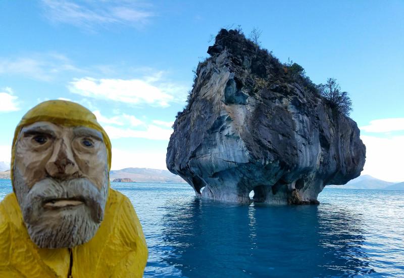 Captain Ahab garden gnome