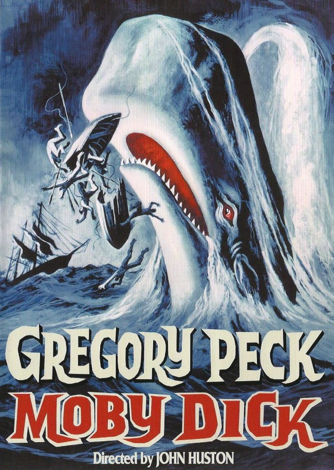Moby Dick DVD cover