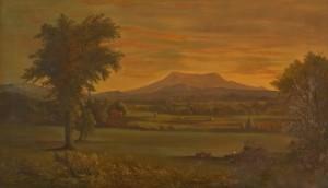 1988-131 Mt Greylock painting