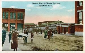 GE entrance postcard a