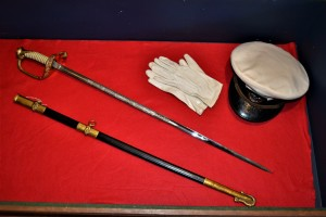McCulloch's Naval Officer's Sword, Hat, and Gloves
